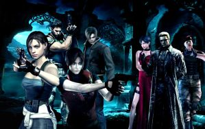 Resident evil wallpaper 6 by ethaclane