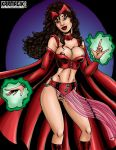 Scarlet Witch gypsy costume - Colors by karmagik