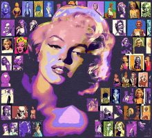 Marilyn by maxxparis