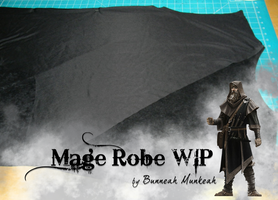 Stage 7: Mage Robe WIP by Bunneahmunkeah