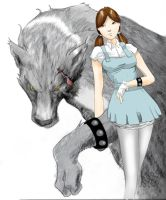 Dorothy and Toto by ajaxone