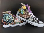 Custom Disney Haunted Mansion Magic Kingdom Shoes by rachelliles352