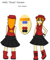 Dusty Hanson's Kalos Reference by Dustyfootwarrior