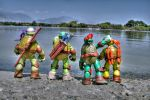 Turtles - HDR by Blue-St