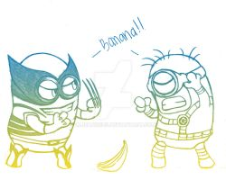 X-Minions by imJEANNEus