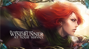 Windrunner by direncefe