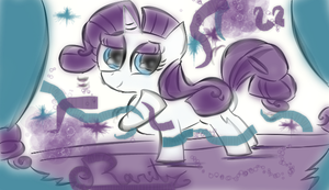 Rarity Entry by KingFlurry