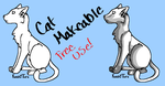 Free Cat Makeable :MSPaint: by KenshiTora