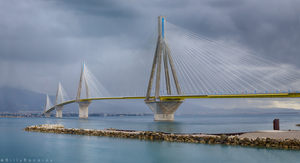 Rio-Antirio Bridge by Rockwaved