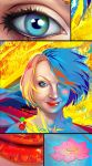 portrait  - vibrant  colors by LimKis