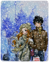 :The first snow: by Moonlilith91