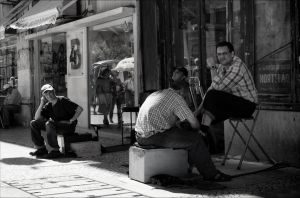 Shoe Shine -Lisbon by Jack-Nobre