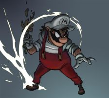 Fire Mario by svenstoffels