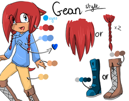 GEAN style by Klaudy-na