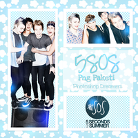5 Seconds Of Summer PNG Pack by ImUnicornn