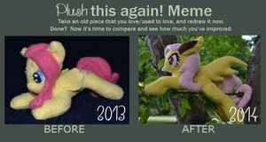 Plush Improvement Meme by Mlggirl