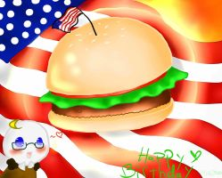 Happy Birthday America!! by KitCat3216
