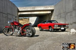 Red Baron and Chevy SS_10 by Motorockgarage