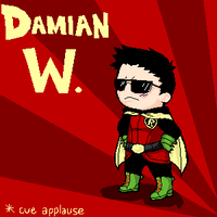 DAMIAN WAYNE WEDNESDAY by b-dangerous