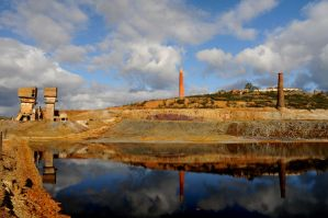 old mine factory by JACAC