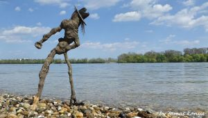 Land art(Michael Jackson)in Hungary by kanya by tom-tom1969