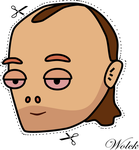 Phil Collins mask by Wolck