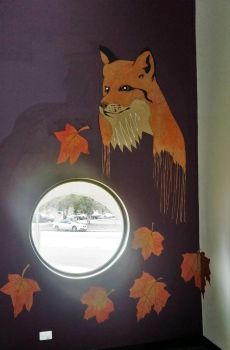 Autumn fox paste-up by chey-enya