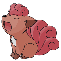 Vulpix Artwork by DarkEmu