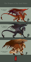 'The Last Winter' Dragons by runandwine