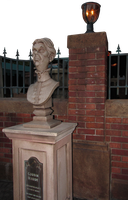 Old Woman Head Bust Monument by WDWParksGal-Stock