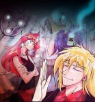 AU Slayers fic illust in 2005 by EugeneCh