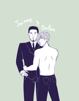 Commission: Jaime and Dallas 1 by GerAmARelA