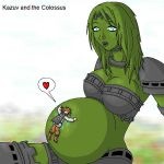 Kazuv and the Colossus by Kazuv