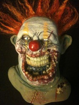zombie clown by UglyBabyEater