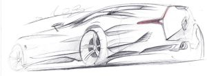 Renault Shooting Brake GT sketch by dyrborgdesign