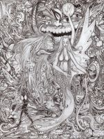 My insane pencil by CReevesABudd
