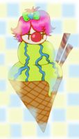 Cone Clown by Pumpkin-Queen-Ildi