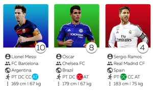 Soccer Cards by Mirk8