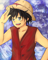 Luffy by jennybun