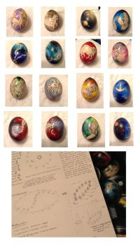 Zodiac Eggs by SpeedLimit-Infinity