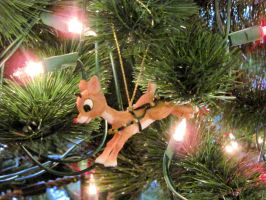 Rudolph The Red-Nosed Ornament by BigMac1212