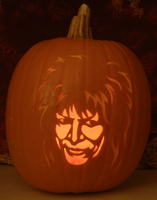 Jareth Pumpkin Light Version by johwee