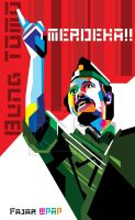 Bung Tomo WPAP by indrorobo