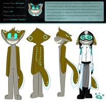 Commander Dr. Leech Ref by SmilehKitteh