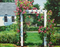 Rose Arbor by MKimm