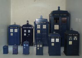 Some More TARDIS Pics by CyberDrone