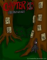 Slender Diaries: Chapter 1 Cover by InvaderIka