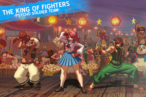 PSYCHO SOLDIER TEAM KOF XIII by CHARLYDAIMON21