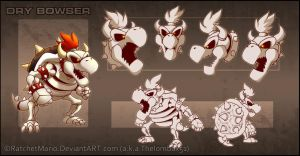 New Dry Bowser by RatchetMario