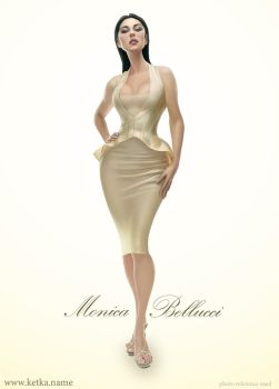 Monica Bellucci by Ketka